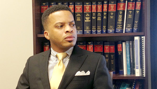 RISING STAR: Vicksburg native Elliot Flaggs is legislative liaison for the Mississippi Attorney General's office and also leads the state's Child Desertion Unit. He is the son of Vicksburg Mayor George Flaggs Jr. and Linda Anthony.