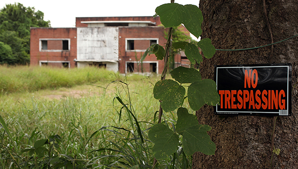 HEADING FOR WRECKING BALL: Kuhn Memorial Hospital will be recommended for demolition by the City of Vicksburg's Community Development Director, Victor Gray-Lewis, at the next board meeting Aug. 3.